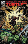 Cover for Teenage Mutant Ninja Turtles (IDW, 2011 series) #7 [Cover B - Kevin Eastman Variant]