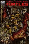 Cover for Teenage Mutant Ninja Turtles (IDW, 2011 series) #8 [Cover B - Kevin Eastman Variant]