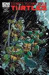 Cover for Teenage Mutant Ninja Turtles (IDW, 2011 series) #8 [Cover RI - Simon Gane Variant]