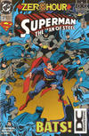 Cover for Superman: The Man of Steel (DC, 1991 series) #37 [No UPC Variant]