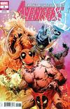Cover for Avengers (Marvel, 2018 series) #1 (691) [Greg Land 'Deadpool Party']