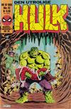 Cover for Hulk (Semic, 1984 series) #10/1985