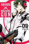 Cover for Aoharu X Machinegun (Yen Press, 2016 series) #3