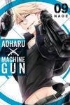 Cover for Aoharu X Machinegun (Yen Press, 2016 series) #9