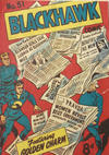 Cover for Blackhawk Comic (Young's Merchandising Company, 1948 series) #51