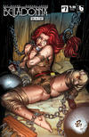 Cover Thumbnail for Belladonna: Fire and Fury (2017 series) #7 [Bondage Cover]
