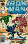 Cover for Iron Man (Marvel, 1968 series) #229 [Newsstand]