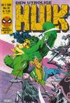 Cover for Hulk (Semic, 1984 series) #2/1986