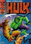 Cover for Hulk (Semic, 1984 series) #3/1986