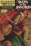Cover for Classics Illustrated (Gilberton, 1947 series) #151 [O] - Won by the Sword [HRN 164]