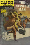 Cover for Classics Illustrated (Gilberton, 1947 series) #153 - The Invisible Man [HRN 166 with 25 Cent Price]