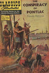 Cover for Classics Illustrated (Gilberton, 1947 series) #154 - The Conspiracy of Pontiac [HRN 167]