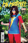 Cover for Ms. Marvel (Marvel, 2016 series) #1 [Cosplay Photo Variant]