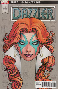Cover Thumbnail for Dazzler: X-Song (Marvel, 2018 series) #1 [Variant Edition]