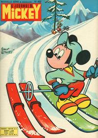 Cover Thumbnail for Le Journal de Mickey (Disney Hachette Presse, 1952 series) #453