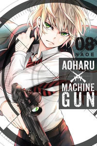 Cover Thumbnail for Aoharu X Machinegun (Yen Press, 2016 series) #8