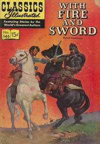 Cover Thumbnail for Classics Illustrated (Gilberton, 1947 series) #146 [O] - With Fire and Sword [HRN 143]
