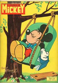 Cover Thumbnail for Le Journal de Mickey (Hachette, 1952 series) #480