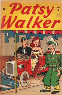 Cover Thumbnail for Patsy Walker (Marvel, 1945 series) #2 [Red lettering]