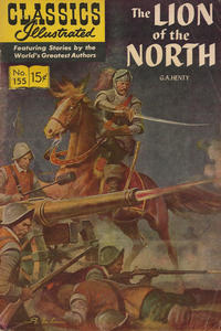 Cover Thumbnail for Classics Illustrated (Gilberton, 1947 series) #155 [O] - The Lion of the North [HRN 167]