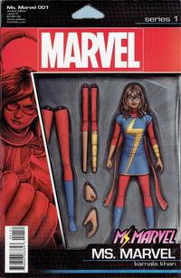 Cover for Ms. Marvel (Marvel, 2016 series) #1 [Phantom Variant - Siya Oum Color]