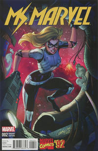 Cover Thumbnail for Ms. Marvel (Marvel, 2016 series) #2 [Incentive J. Scott Campbell Marvel '92 Variant]