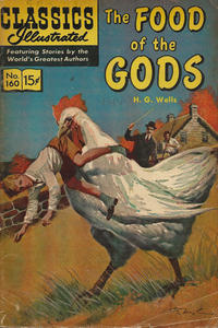 Cover Thumbnail for Classics Illustrated (Gilberton, 1947 series) #160 [O] - The Food of the Gods [HRN 166]