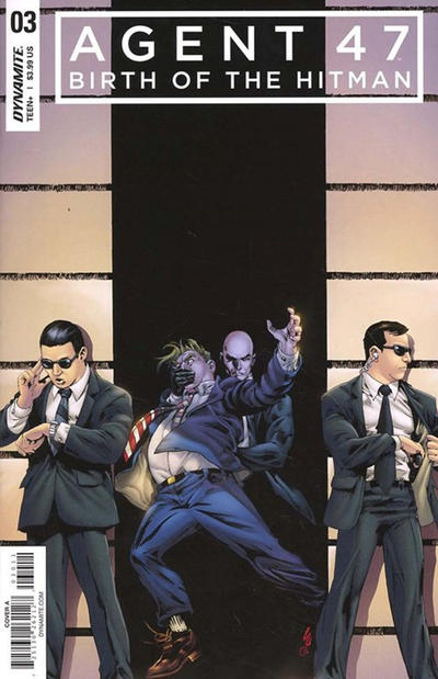 Cover for Agent 47: Birth of the Hitman (Dynamite Entertainment, 2017 series) #3