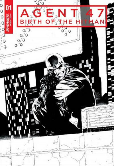Cover for Agent 47: Birth of the Hitman (Dynamite Entertainment, 2017 series) #1 [Cover B Jonathan Lau]