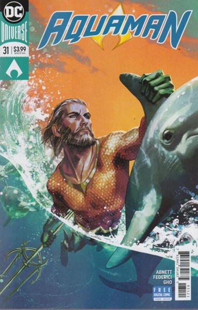 Cover for Aquaman (DC, 2016 series) #31 [Stjepan Šejić Cover]