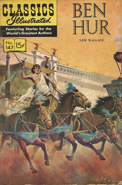 Cover for Classics Illustrated (Gilberton, 1947 series) #147 [O] - Ben Hur