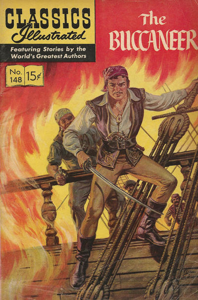 Cover for Classics Illustrated (Gilberton, 1947 series) #148 [O] - The Buccaneer