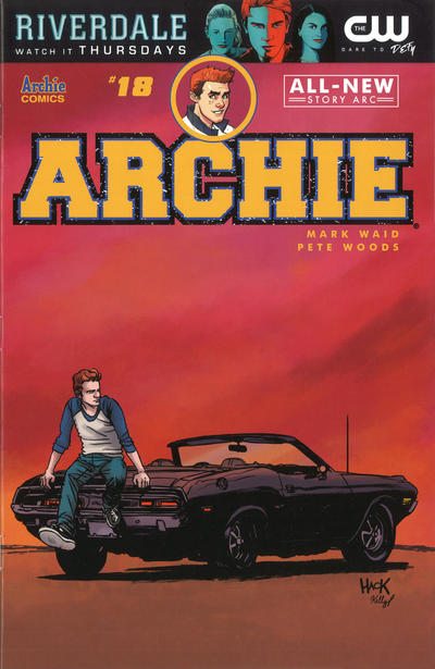 Cover for Archie (Archie, 2015 series) #18 [Cover A - Pete Woods]