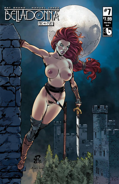 Cover for Belladonna: Fire and Fury (Avatar Press, 2017 series) #7