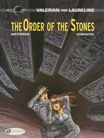 Cover for Valerian and Laureline (Cinebook, 2010 series) #20 - Order of the Stones