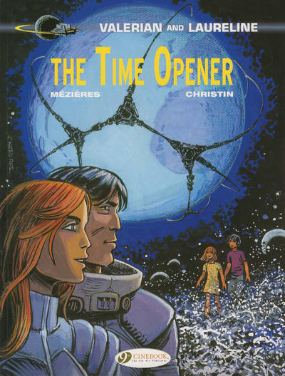 Cover for Valerian and Laureline (Cinebook, 2010 series) #21 - The Time Opener