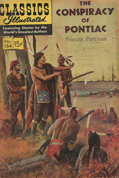 Cover for Classics Illustrated (Gilberton, 1947 series) #154 [O] - The Conspiracy of Pontiac