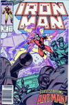 Cover for Iron Man (Marvel, 1968 series) #233 [Newsstand]