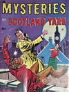 Cover for Mysteries of Scotland Yard (Cartoon Art, 1955 series) #1