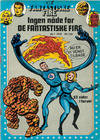 Cover for De Fantastiske Fire (Winthers Forlag, 1978 series) #1