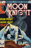 Cover for Moon Knight (Marvel, 1980 series) #2 [British]