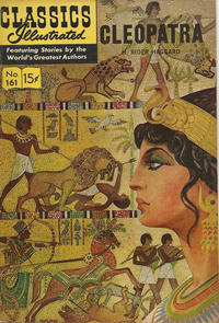 Cover Thumbnail for Classics Illustrated (Gilberton, 1947 series) #161 [O] - Cleopatra [HRN 167]