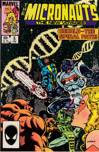 Cover Thumbnail for Micronauts (Marvel, 1984 series) #5 [Direct]