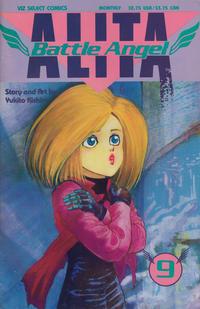 Cover Thumbnail for Battle Angel Alita (Viz, 1992 series) #9