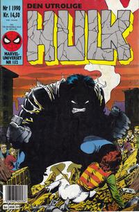 Cover Thumbnail for Hulk (Semic, 1984 series) #1/1990