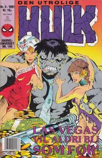 Cover Thumbnail for Hulk (Semic, 1984 series) #5/1991