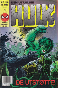 Cover Thumbnail for Hulk (Semic, 1984 series) #3/1990