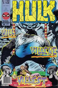 Cover Thumbnail for Hulk (Semic, 1984 series) #1/1991