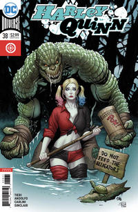 Cover Thumbnail for Harley Quinn (DC, 2016 series) #38 [Frank Cho Cover]