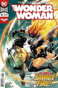Cover Thumbnail for Wonder Woman (DC, 2016 series) #49 [Stephen Segovia Cover]